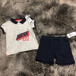 Guess | Boys 2 Piece Set | Shorts & Polo Shirt